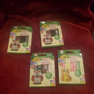 4packs of Crayola Modeling Clay